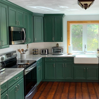 completed project by an interior designer in londonderry nh